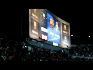 �� �������� Camp  Barcelona vs Real Madrid El Clasico spanish super cup